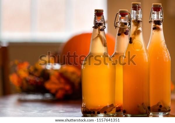 Huckleberry Ginger Kombucha