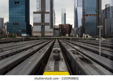 Hudson Yards, Subway Yards in New York City, United States