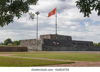 Hue Imperial City flag tower, Vietnam