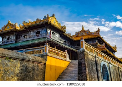 Hue Photo Trip on July,2017. Hue old Kingdom a UNESCO World Heritage Site in Thua Thien Hue Province, the place favourite tourism on middle of Vietnam