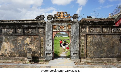 Hue, Vietnam. January 4th, 2020. Hue Imperial City is also known as the Citadel