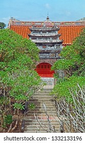 Hue, Vietnam,  The Thien Dinh Palace.