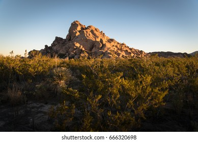 Hueco Tanks Historic State Park in El Paso, Texas.