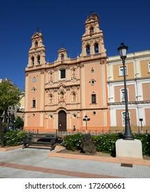 Huelva, Andalusia, Spain. Old church