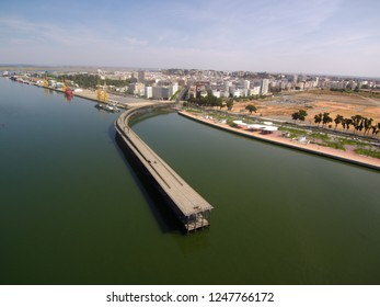 Huelva. Bridge of Riotinto. Andalusia, Spain.