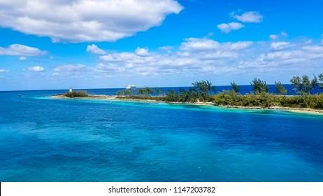 Hues of Green and Blue of the Bahamas