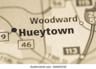 Hueytown. Alabama. USA