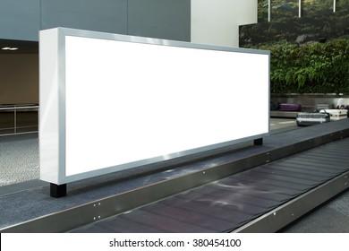 huge blank electronic billboard outdoors