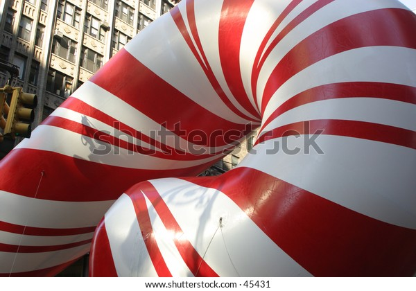 Huge Candy Cane Baloon