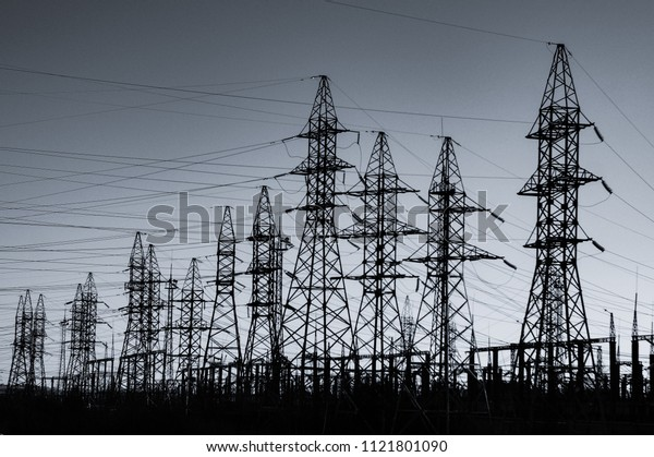 Huge congestion of electric wires