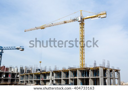 Huge Crane Construction Plant Big Construction Stock Photo Edit Now