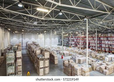 Huge distribution warehouse