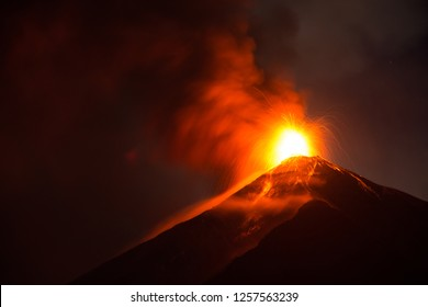 A huge eruption from one of the most active volcanoes in the world. A perfect destination for an unforgettable adventure trip.