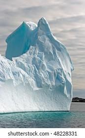 Huge iceberg in sea, Antarctica