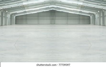 Huge light warehouse