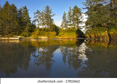 A huge Pacific beach with the small picturesque islands, filled in by a tidal wave, More magnificent pictures from the American and Canadian National parks you can look hundreds in my portfolio.