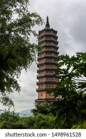 Huge Pagoda in the Bai Dinh buddhist complex