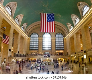 (Huge Picture) View of Grand Central Terminal in New York City
