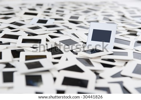 Huge Slide Collage Background One Focused Stock Photo (Edit Now ...
