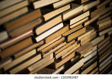 Huge stack of book