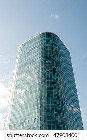 huge tall glass buildings of beautiful architecture