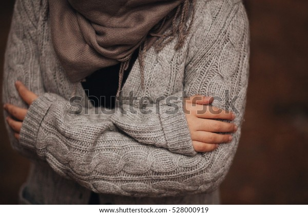 Hugging when cold weather