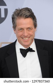 Hugh Grant at the 25th Annual Screen Actors Guild Awards held at the Shrine Auditorium in Los Angeles, USA on January 27, 2019.