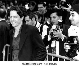 Hugh Grant at the New York premiere of NOTTING HILL, 5/13/99