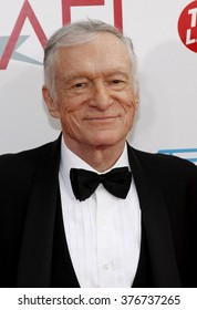 Hugh Hefner at the 37th Annual AFI LIfetime Achievement Awards held at the Sony Pictures Studios in Culver City, USA on June 11, 2009.
