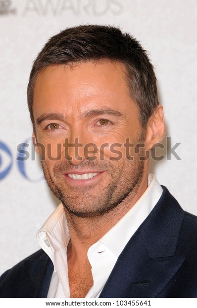 Hugh Jackman at the 2010 People's Choice Awards Press Room, Nokia Theater L.A. Live, Los Angeles, CA. 01-06-10