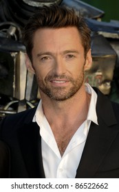"""Hugh Jackman arrives for the """"Real Steel"""" premiere at the Empire Leicester Square, London. 14/09/2011  Picture by: Steve Vas / Featureflash"""