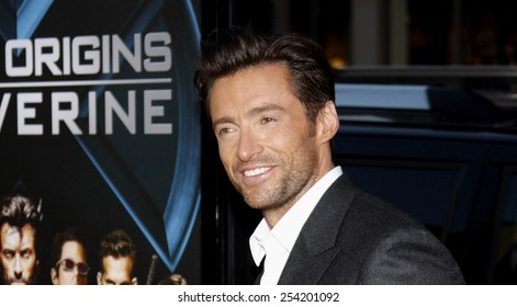 """Hugh Jackman at the Los Angeles Premiere of """"X-Men Origins: Wolverine"""" held at the Grauman's Chinese Theatre in Hollywood, California, United States on April 28, 2009."""