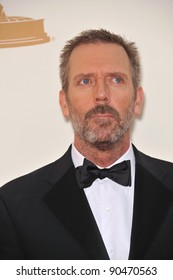 Hugh Laurie arriving at the 2011 Primetime Emmy Awards at the Nokia Theatre, L.A. Live in downtown Los Angeles. September 18, 2011  Los Angeles, CA Picture: Paul Smith / Featureflash