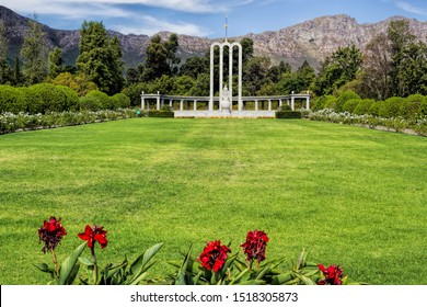 Huguenot monument in Franschhoek, South Africa
