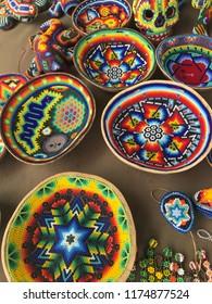 Huichol art in Mexico