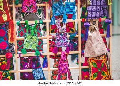 Huichol bags