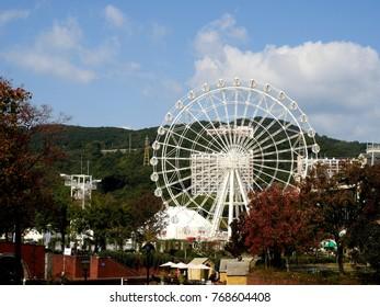 Huis Ten Bosch, the large Theme Park in Sasebo Nagasaki Kyushu Japan