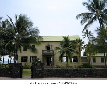 Hulihee Palace in Kailua-Kona, Hawaii is Situated on Ali`i Drive in Kailua - Kona, Hulihe`e Palace was the vacation residence of Hawaiian royalty. Today it is a museum operated by the Daughters...