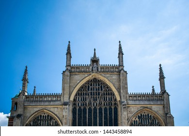 Hull Minster, England's largest parish church, built using fine medieval brickwork with a 17th-century organ. The church was called Holy Trinity Church until 13 May 2017 when it became Hull Minster.