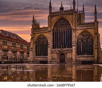 Hull Minster, England's largest parish church, built using fine medieval brickwork with a 17th-century organ.