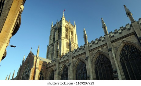 Hull Minster in Hulls old town district, East Yorkshire, England