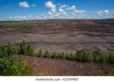 The Hull Rust Mahoning, the world's largest open pit iron ore mine.