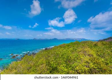 Hulopoe Beach of Lanai Island in Hawaii,Beach, Hawaii Islands, Lanai, Sand, Island,Tropical sea and rocks,Thailand, Tropical Climate, Sea, Island, Summer,Thailand, Phuket Province, Beach, Landscape