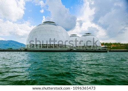 Hulu Terengganu Malaysia 5 March 2018 Multiple Domes Stock Photo