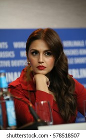 Huma Qureshi attends the 'Viceroy's House' press conference during the 67th Berlinale International Film Festival Berlin at Grand Hyatt Hotel on February 12, 2017 in Berlin, Germany.