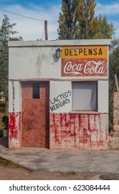 HUMAHUACA, ARGENTINA - APRIL 12, 2015: Small local store in Humahuaca village, Argentina