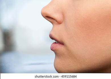 Human ear.