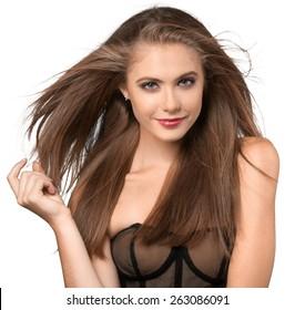 Human Hair, Fashion Model, Women.