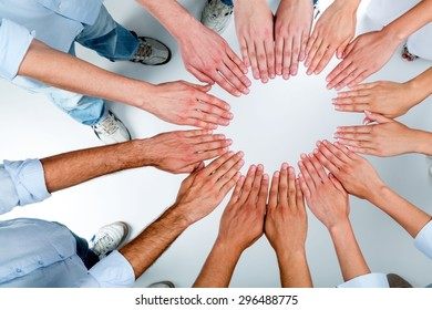 Human Hand, Community, Multi-Ethnic Group.