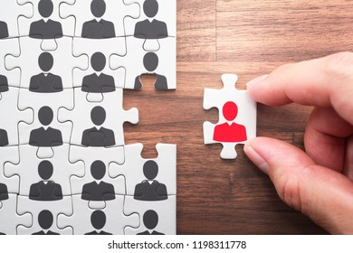 Human resource management. Selecting person for the job. 